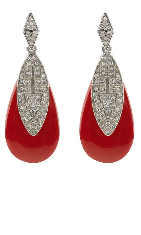 Marks And Spencer Oval Drop Earrings by 17 Best Images About Coral On