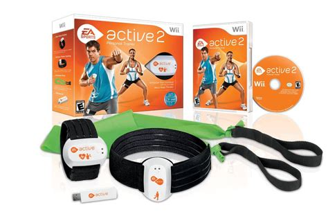 Ea Fitness 1 by New Ea Sports Active 2 Personal Trainer Bundle Nintendo