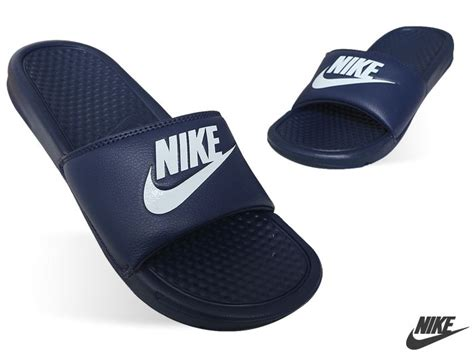 nike house shoes new mens nike benassi jdi 343880 403 us sz 7 10 nike sandals nike slippers ebay