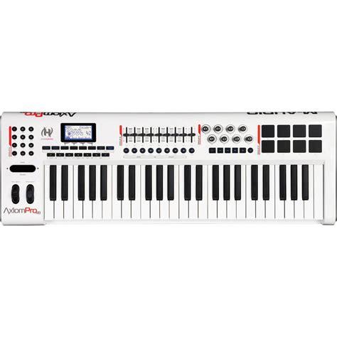 Keyboard M Audio m audio axiom pro 49 midi keyboard 49 key midi keyboard from inta audio uk