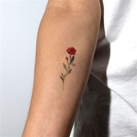 small roses tattoo small tattoos the world s best small design gallery