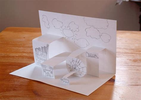 How To Make A Paper Pop Up - ned batchelder how to make a pop up