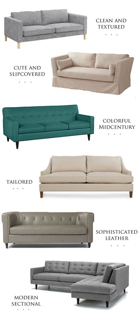 different couch styles different styles of couches couch ideas