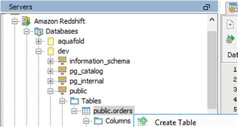 Redshift Create Table by Redshift Support New Features Version 15 0