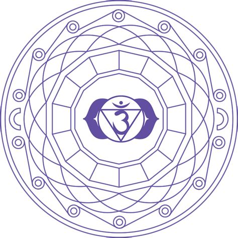mandala indigo mandala creado el color del sexto chakra mandalasparatodos ar