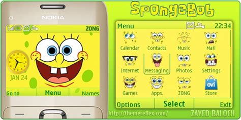 doraemon themes x2 01 spongebob theme for nokia c3 x2 01 themereflex