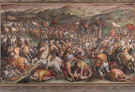 vasari s file giorgio vasari the battle of marciano in val di
