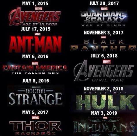 film disney a venir le calendrier des films marvel news cin 233