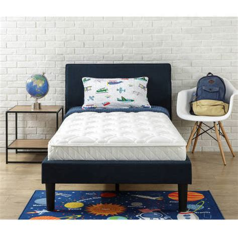 6 Bunk Bed Mattress Slumber 1 Youth 6 Bunk Bed Mattress With Moisture Barrier Sizes Walmart