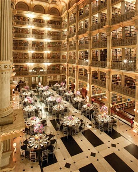 The George Peabody Library, Baltimore   Married in
