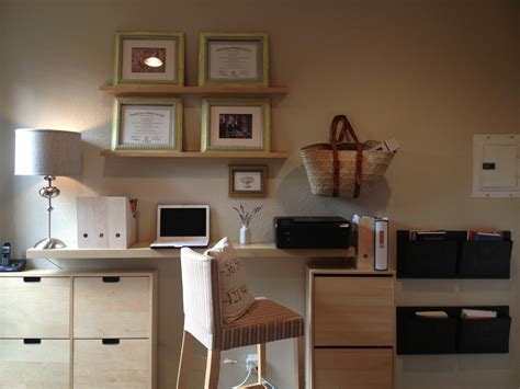 Ikea Office Hack | minimalist home office hack ikea hackers ikea hackers