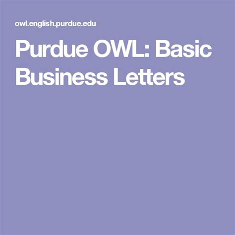 Purdue Business Card Templat by 25 Best Ideas About Business Letter Format On