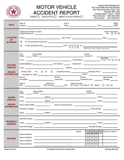 sle car report motor vehicle report template 28 images report form