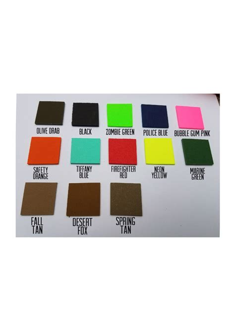 kydex colors kydex color clearwater tactical