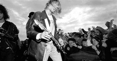 Curt Cobain And Nirvana kurt cobain s incesticide painting to debut at seattle