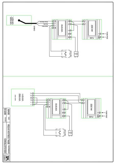 videx miscellaneous wiring diagrams