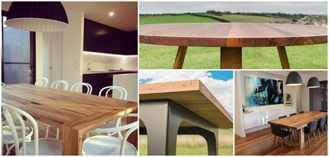 Handmade Dining Tables Melbourne - custom made dining tables timber dining tables