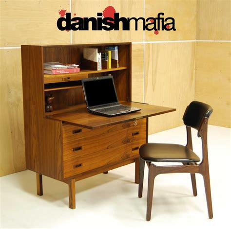 mid century secretary desk image gallery modern secretary desk