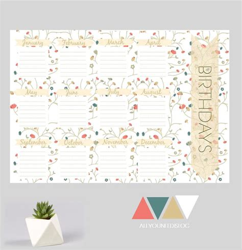 printable calendar etsy 45 best printable pdf planners and organizers images on