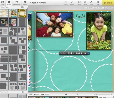 qt layout align top design tip how to align images in a photo book layout