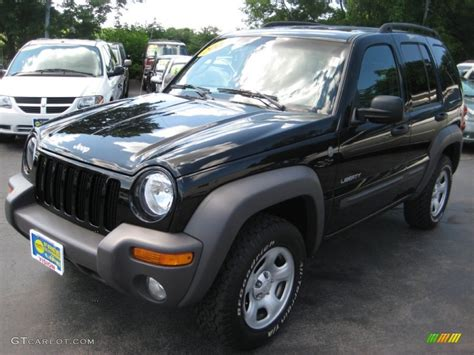 black jeep liberty 2005 2005 black clearcoat jeep liberty sport 4x4 67213553