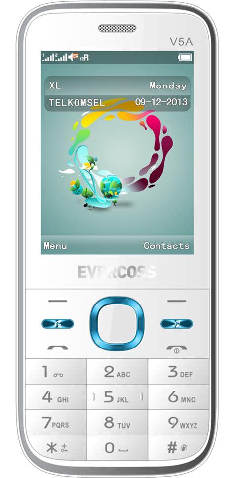 Hp Murah Evercoss V1a Dual Sim evercoss v5a ponsel candybar murah dual sim