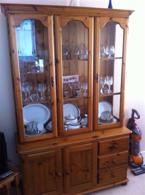 ducal large display cabinet  excellent condition