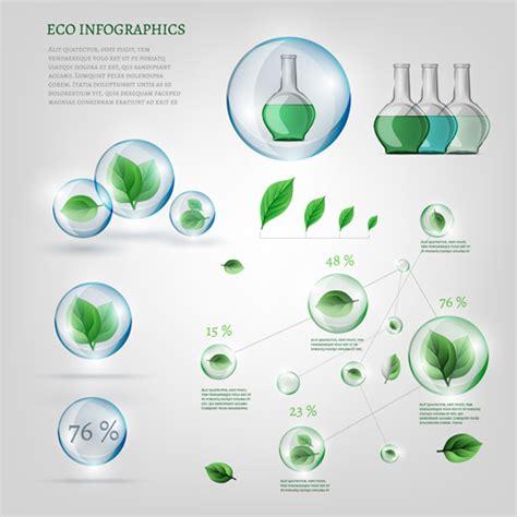 eco design elements vector eco infographics elements vectors graphics 03 vector