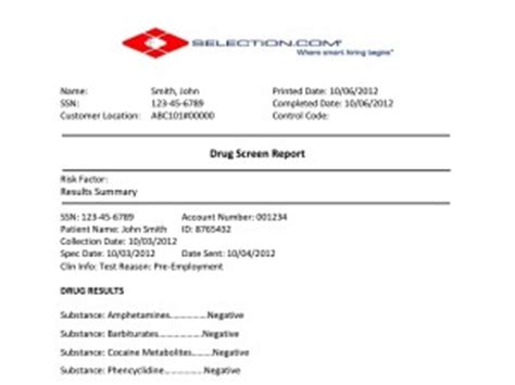 Marvelous Background Check Forms For Churches #7: Drug-Screen-Report-Sample-Background-Check-300x225.jpg