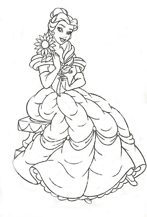 imagenes para colorear de princesas imagenes de princesas para colorear new calendar