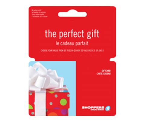 shoppers drug mart gift cards flyers online - Shoppers Drug Mart Gift Cards