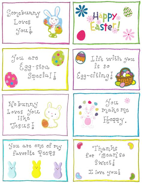 happy easter note easter lunchbox notes free printable happy home