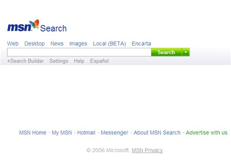 Msn Search Wiredprairie Msn Search Gets A Facelift