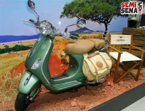 3 motor vespa edisi ulang tahun siap masuk indonesia piaggio luncurkan vespa safari limited edition semisena com