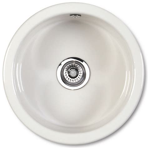 round kitchen sinks shaws of darwen classic round under mount or inset ceramic