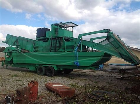 fishing boat for sale galway steel weed harvester galway fafb