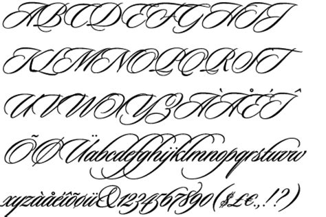tattoo fonts edwardian script fontscape home gt appearance gt decorated gt flourishes