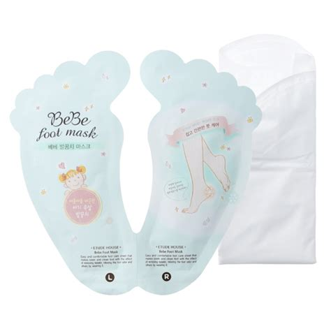 Etude House Bebe Foot Mask usa only clearance etude house bebe foot mask foot