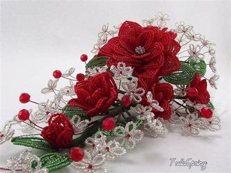 fiori in francese francese di perline fiori bridal bouquet di