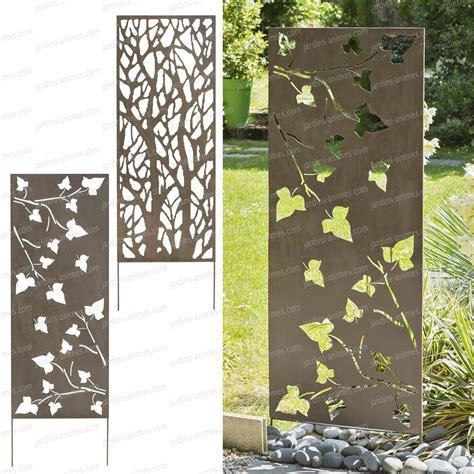 Plaque Separation Pour Jardin by Panneau D 233 Coratif En M 233 Tal 0 6m X 1 5m Cloture Et