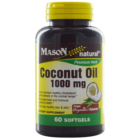 Coconut Powder Vitamin vitamins coconut 1000 mg 60 softgels iherb