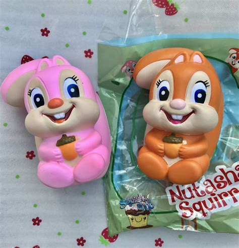 Squishy Jumbo Limited nutasha the squirrel squishy scented licensed