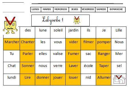Fichier D Exercices Sur La Nature Des Mots Ce1 Ce2 Coloriage Magique Ce2 Fran Ais L