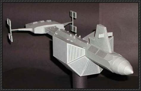 Sleeper Ship by Papercraftsquare New Paper Craft Trek Ss