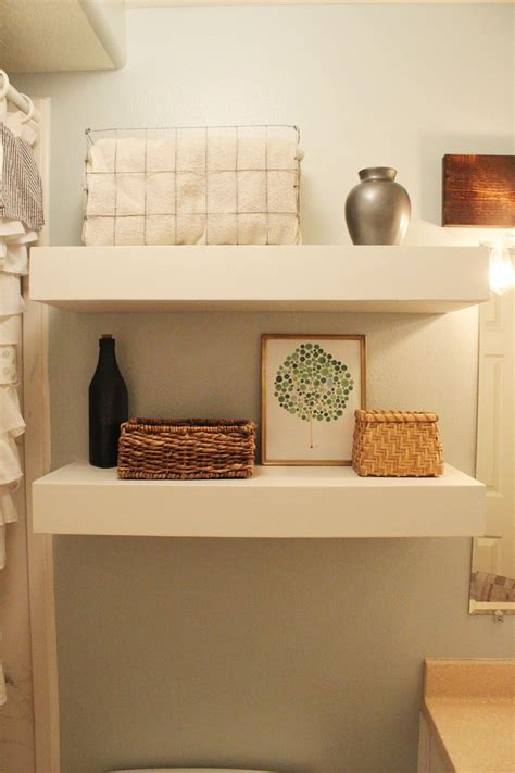 Diy Bathroom Floating Shelves Www Pixshark Com Images Diy Floating Bookshelves