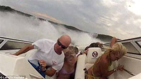 boat crash family family thrashed around boat in maritime mayhem