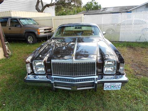 1985 chrysler cordoba 1978 to 1980 chrysler cordoba for sale on classiccars