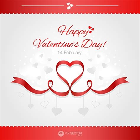 happy valentines day card templates happy valentines day card vector template pixsector