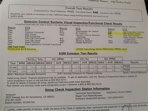 check engine light smog smog requirements autos post
