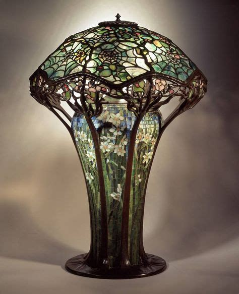 candelabros tiffany cobweb stained glass l 1900 by louis comfort tiffany
